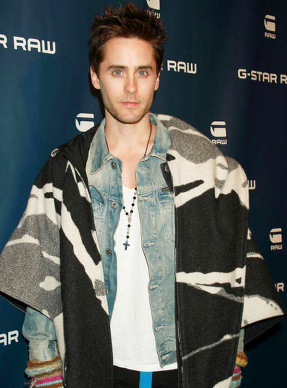 The 3301 Arc Denim Jacket is one of such unique designed upper garment, which was wore by Jared Leto.