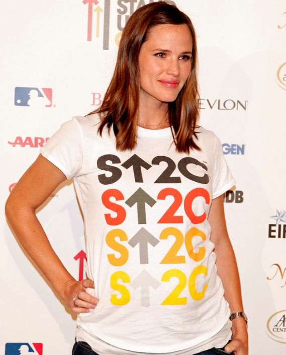 Jennifer Garner at Stand Up To Cancer event