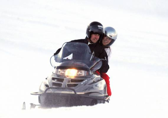 Kate Middleton on vacations in French Alps, France