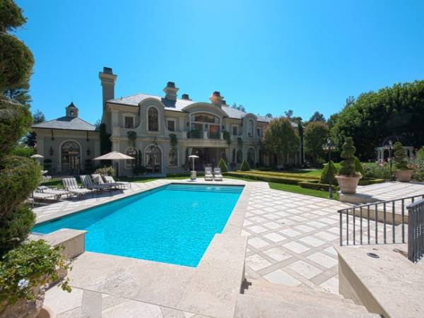Real Housewife of Beverly Hills star Adrienne Maloof Lists Hideous Faux Chateau