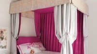 Pink shade master bedroom