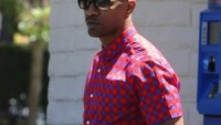 Louis Vuitton Plaid Check Shirt and Evidence Sunglasses