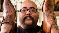 Have Your Shoes Tattooed by Tattooist to the Stars