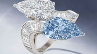 Bulgari rare blue diamond ring up for grabs
