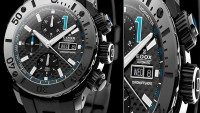 The EDOX Class 1 Chronoffshore Retrograde watch is for the rich and sporty