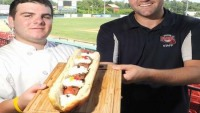 Brockton Rox hopes to set new record for the world's most expensive hot dog