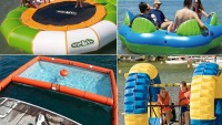 Inflatable water toys for rich boys
