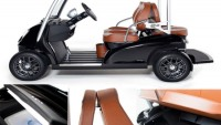 Garia 2+2 multi-functional golf cart for luxurious trips to tee-off