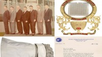 Space missions' artifacts brings Apollo Astronauts' souvenirs for collectors