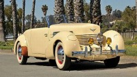 Tom Mix's 1937 Supercharged Cord 812 to feature Amelia Island Concours d'Elegance