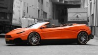 Savage Rivale gets in the supercar race with its Roadyacht GTS convertible sports car