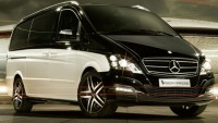 Mercedes-Benz Viano Vision Diamond edition is for those who love chauffeured rides