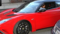Alicia Keys drives Lotus Evora GTE