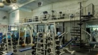 The two story gym