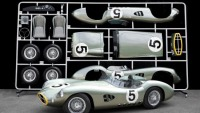 1:1 Scale Model of the Aston Martin 1959 Le Mans race car turned into automotive art