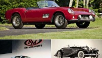 Ford, Ferrari, Mercedes collector cars set record at auctions