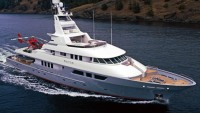 Expedition-style 163-foot Triton megayacht for sale