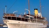 World's last operational steam-powered superyacht 'S.S. Delphine' is for sale at $50 million