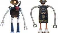Guy Robots: Industrial junk gets a new life!