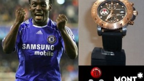 Mont Blanc launches limited edition Michael Essien Foundation watch