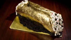 The world's most expensive cannoli for $26k is on display at Jasper's Restaurant