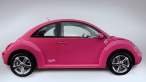 New Volkswagen Beetle Barbie All-Pink Edition Debuts in Mexico