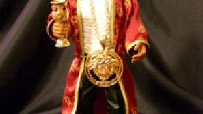 Official Ghostface Killah Doll Decked-Up in Gold & Swarovski crystals to hit shelves