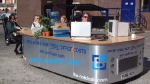 World's First Mobile Office