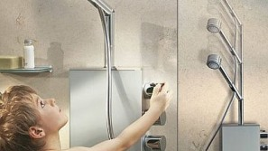 World's first Hydraulic Height-Adjustable Shower Thermostat