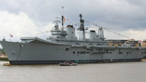 Royal Navy's HMS Ark Royal aircraft carrier up for grabs