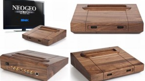 Retro gamers rejoice with the wooden Neo Geo MVS
