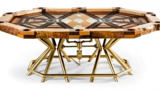 Akke Functional Art 's most expensive poker table brings Las Vegas feel in your home