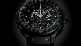 Hublot's Limited Edition Big Bang Depeche Mode Watch is made from micro-blasted black ceramic