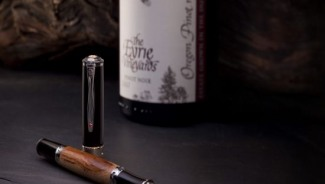 William Henry RB8 roller ball pen uses wood from the Eyrie Vineyard