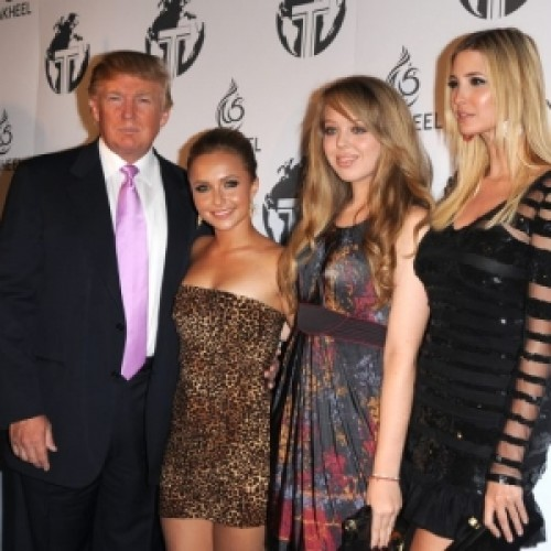 Tiffany Trump with family