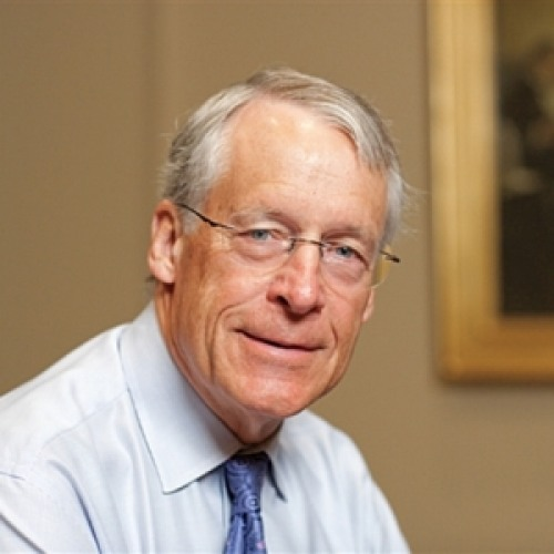 The 72-year old son of father Sam Walton and mother Helen Walton , 178 cm tall S. Robson Walton in 2017 photo