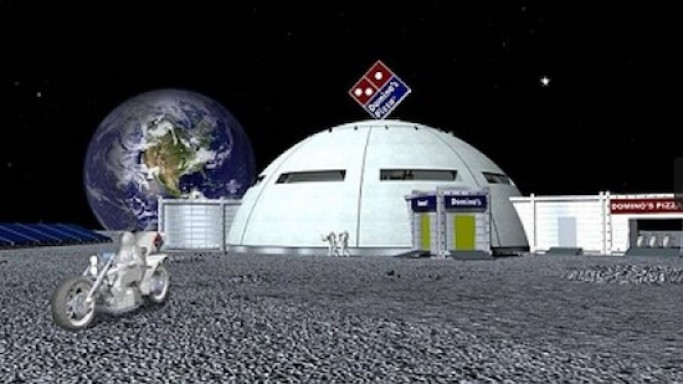 Domino's plans first pizza restaurant on the Moon