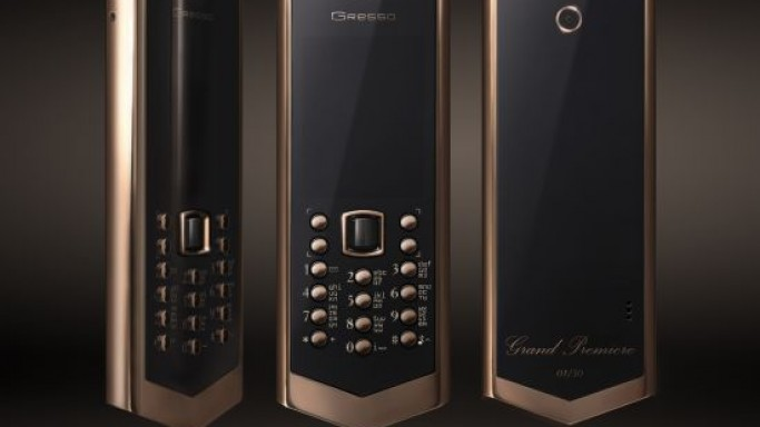 Gresso special edition Avant-garde Grand Premiere phone for $50k
