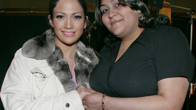 Jennifer Lopez and Janet Ovalles, Jennifer works for DKMS organization
