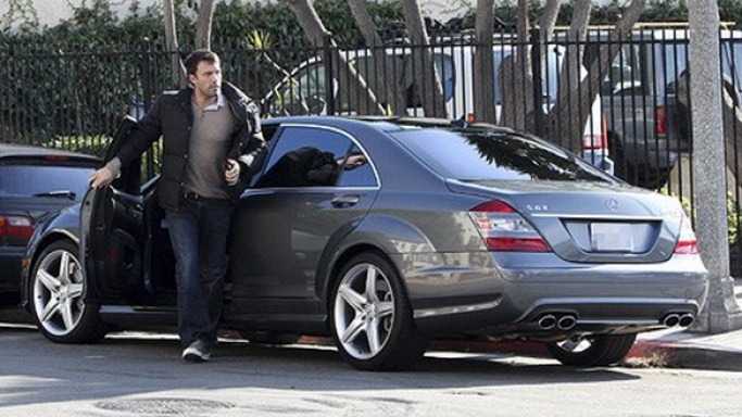 Ben can be seen driving his black toned Mercedes-Benz S63 AMG