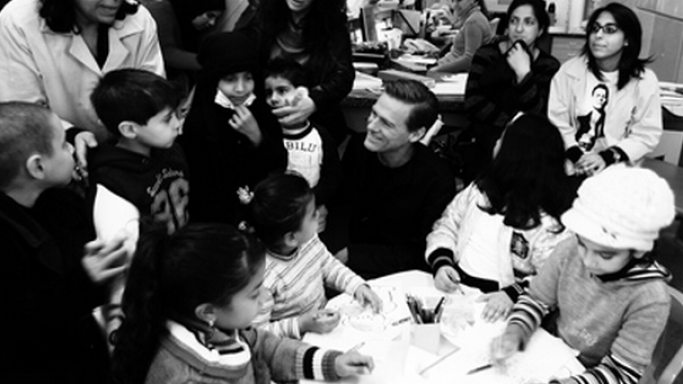 Bryan Adams is known for his active involvement in charity activities.