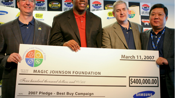 Johnson founded the organization back in 1991.