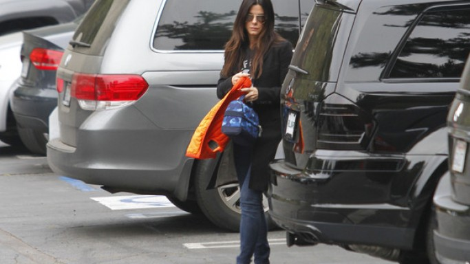 The actress has been often spotted driving around in her black $90,000 Mercedes GL550.