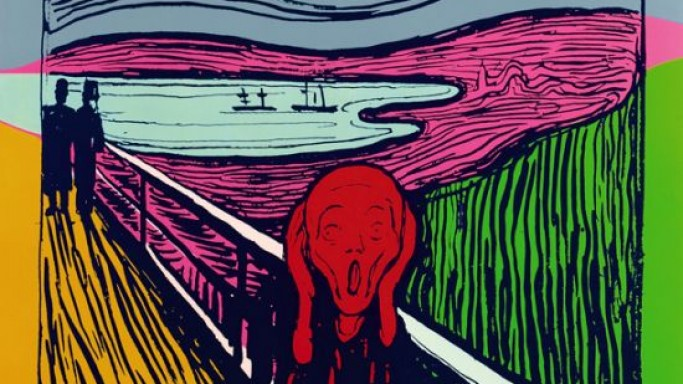 "Andy Warhol's screenprints inspired by Edvard Munch's ""The Scream"" to auction at Sotheby's"