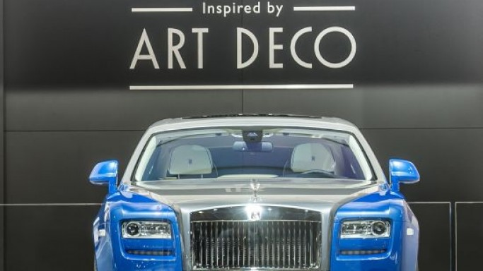 Rolls-Royce Art Deco Inspired Cars debut at Paris Motor Show 2012
