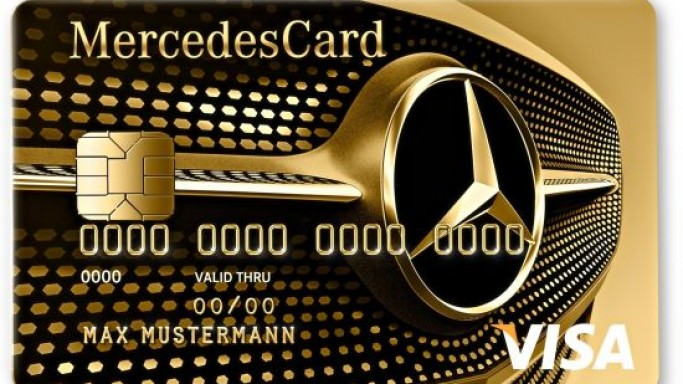 New Mercedes Card Silver and Gold comes with a bonus program
