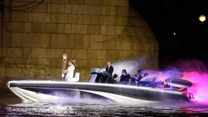 David Beckham piloted Bladerunner Speedboat from Olympics 2012 goes for sale