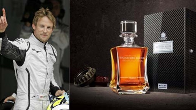 Johnnie Walker's McLaren Mercedes edition $48,500 whisky inspired by Formula One driver Jenson Button