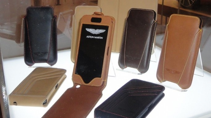 Beyzacases launches Aston Martin luxury mobile accessories at CES 2013
