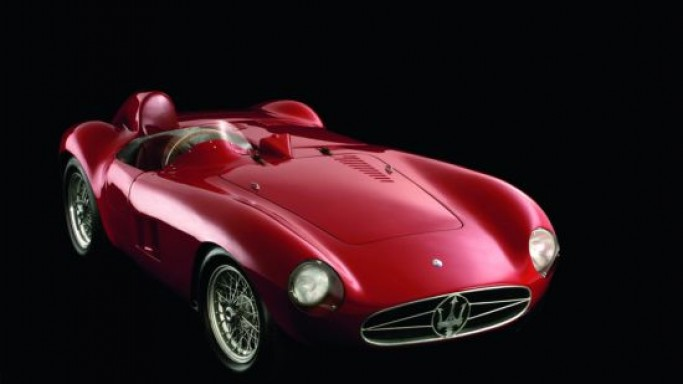 One of the most beautiful Maserati 300S racing cars offered at Goodwood Festival of Speed Auction